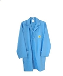 ESD Safe Lab Coat BLUE (Full Range of Sizes)