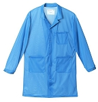ESD Safe Lab Jacket BLUE (Full Range of Sizes)