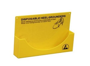 Dispenser for Disposable Heel Grounder 300 mm Long